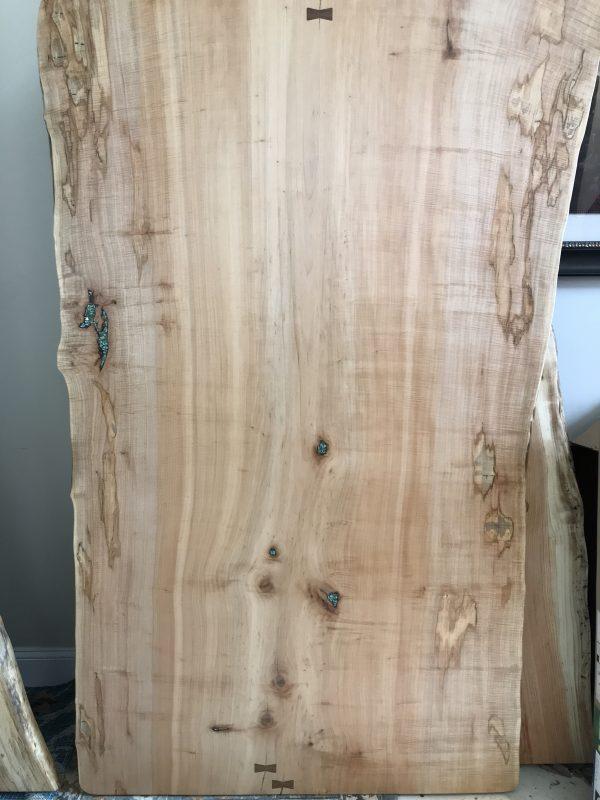 maple hardwood table slab