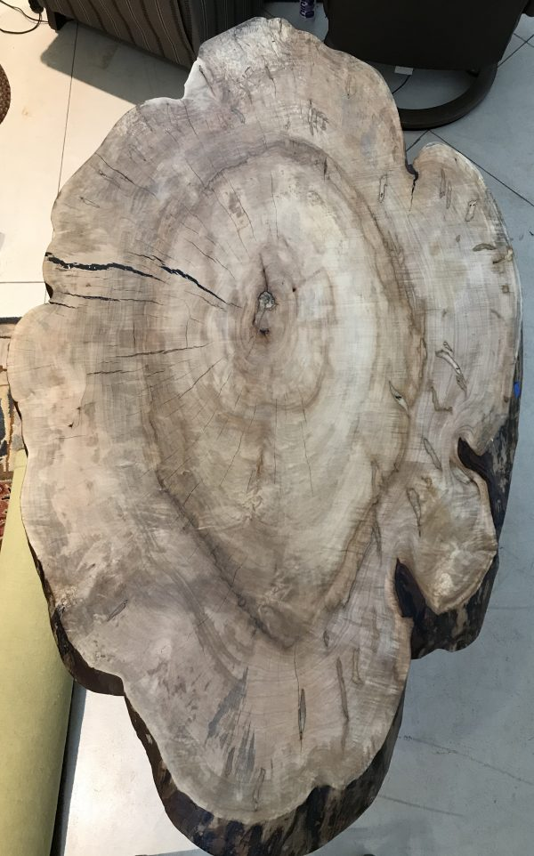 table top hardwood slab